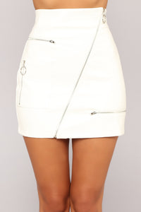 Janelle Skirt - White