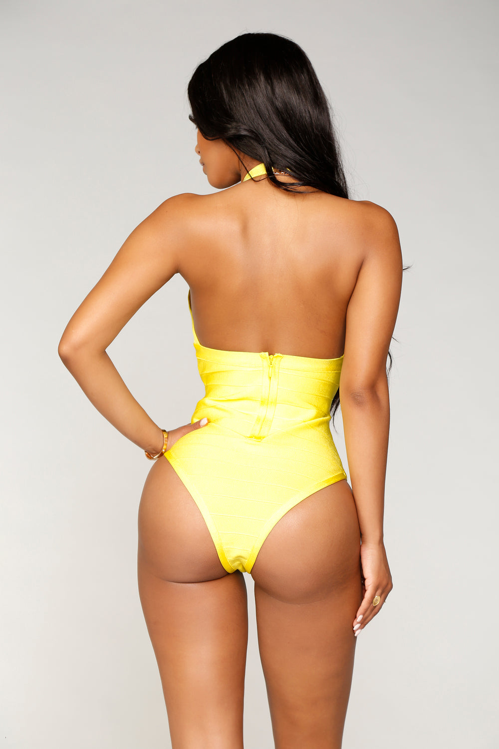 Zene Swimsuit - Yellow
