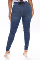Margot High Rise Skinny Jeans - Medium Blue Wash