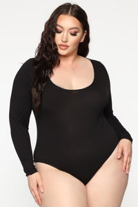 Endless Purity Bodysuit - Black