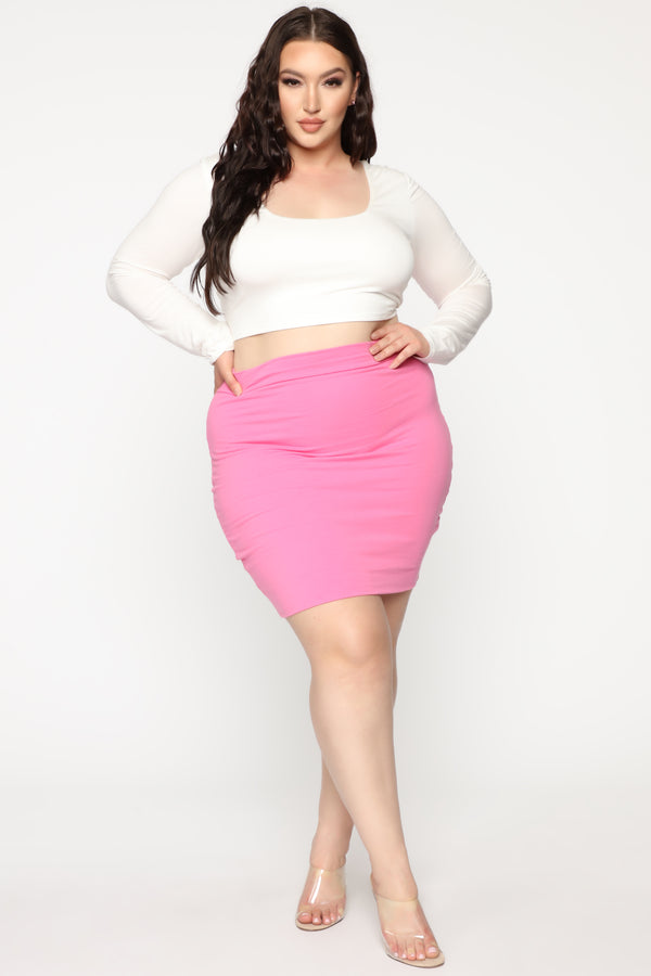 02bbe6fc74 Plus Size - Skirts