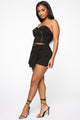 Shay Moto Skort Set - Black