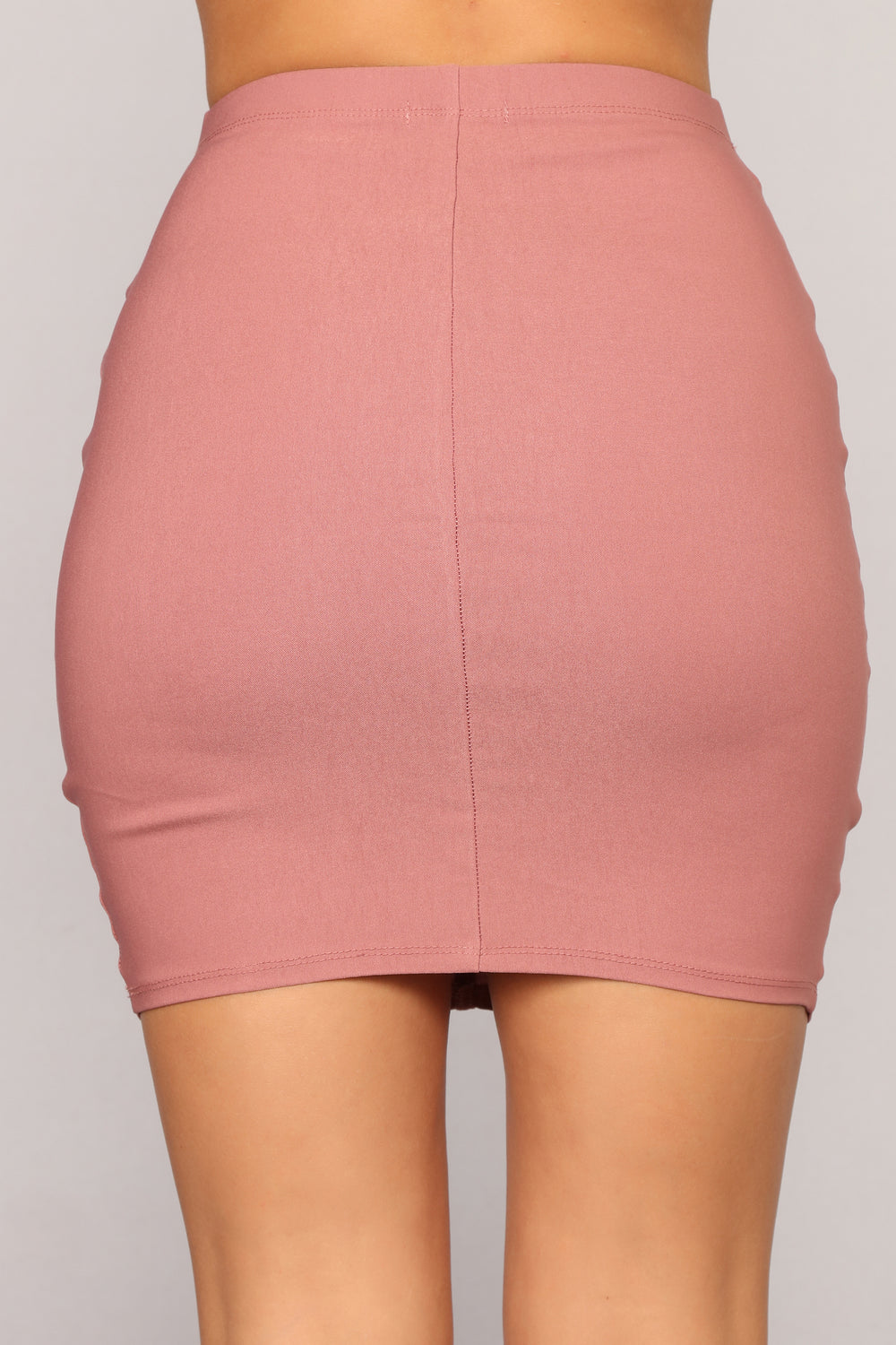 Empire State Of Mind Skirt - Mauve