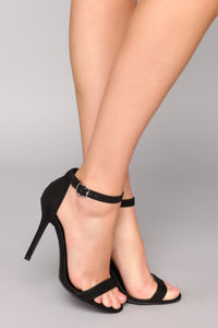 The Last Word Heel - Black