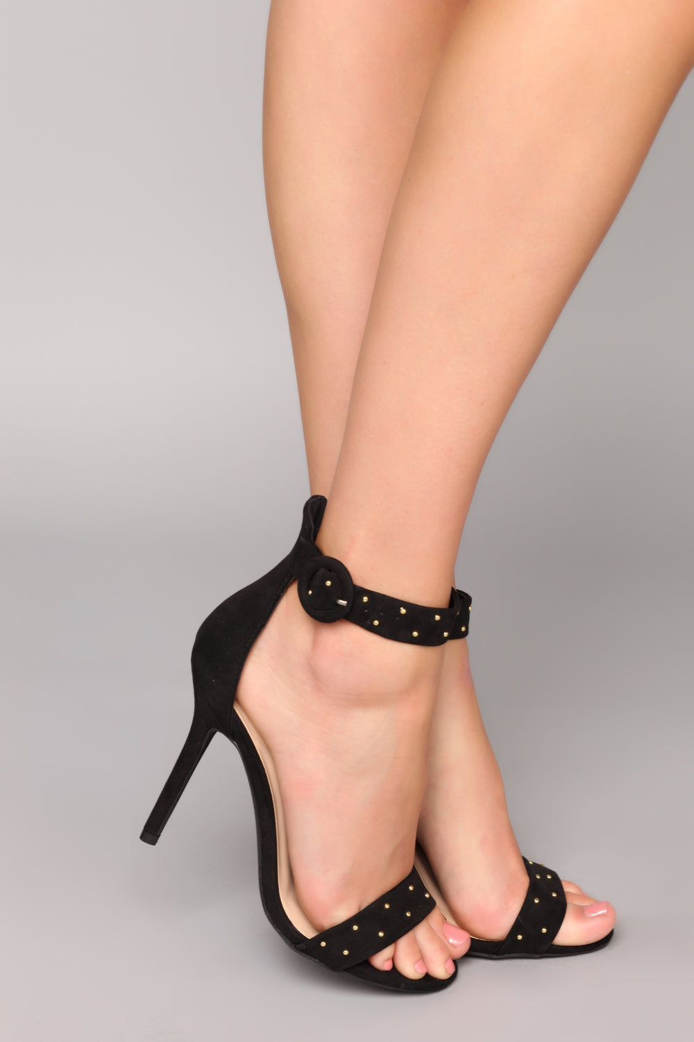 Stud Finder Heels - Black