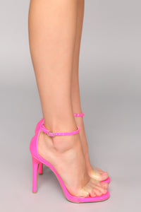 Flashing Lights Heel - Pink