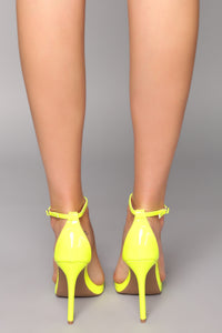 Flashing Lights Heel - Yellow