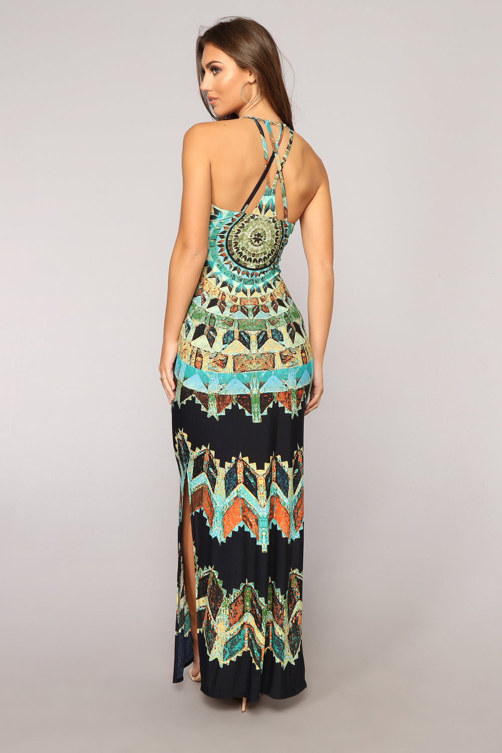 Mazatlan Maxi Dress - Navy