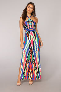 Cartagena Maxi Dress - Multi