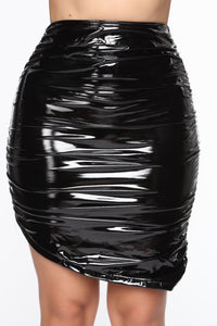 Up All Night Mini Skirt - Black