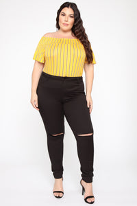 Forever My Lover Top - Mustard