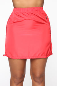 Whatever Forever Mini Skirt - Red