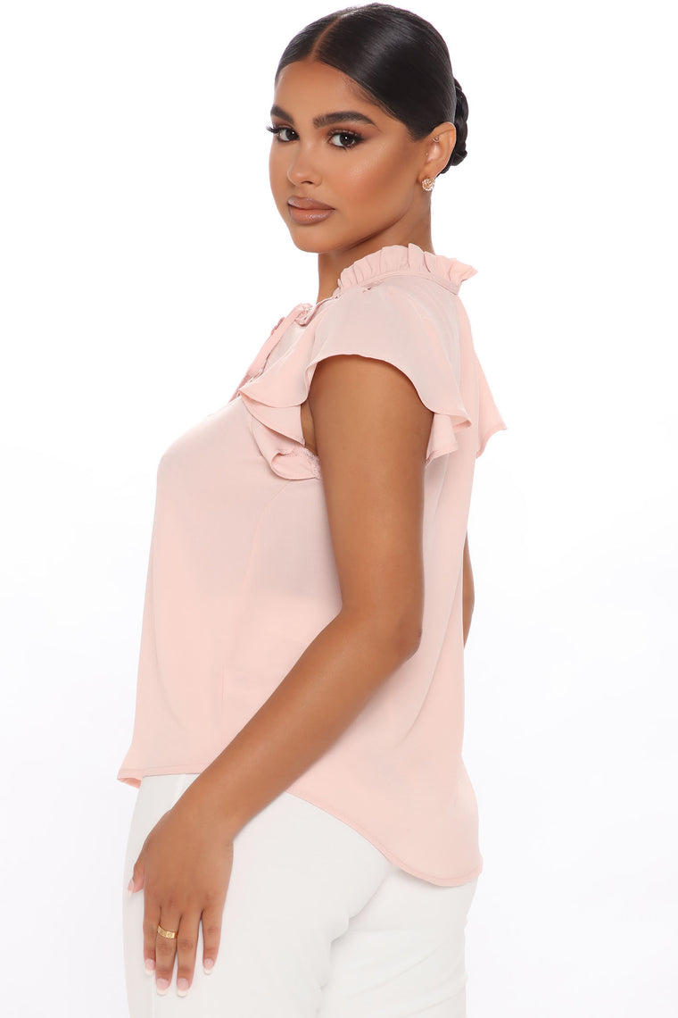 Ahead Of Class Top - Blush