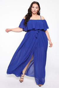 Got It Together Maxi Dress - Royal Angle 5