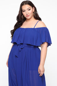 Got It Together Maxi Dress - Royal Angle 6