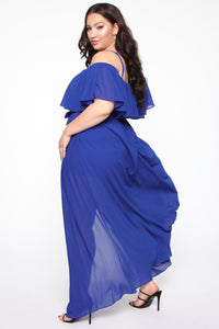 Got It Together Maxi Dress - Royal Angle 7