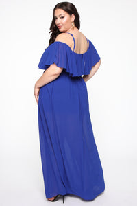 Got It Together Maxi Dress - Royal Angle 8