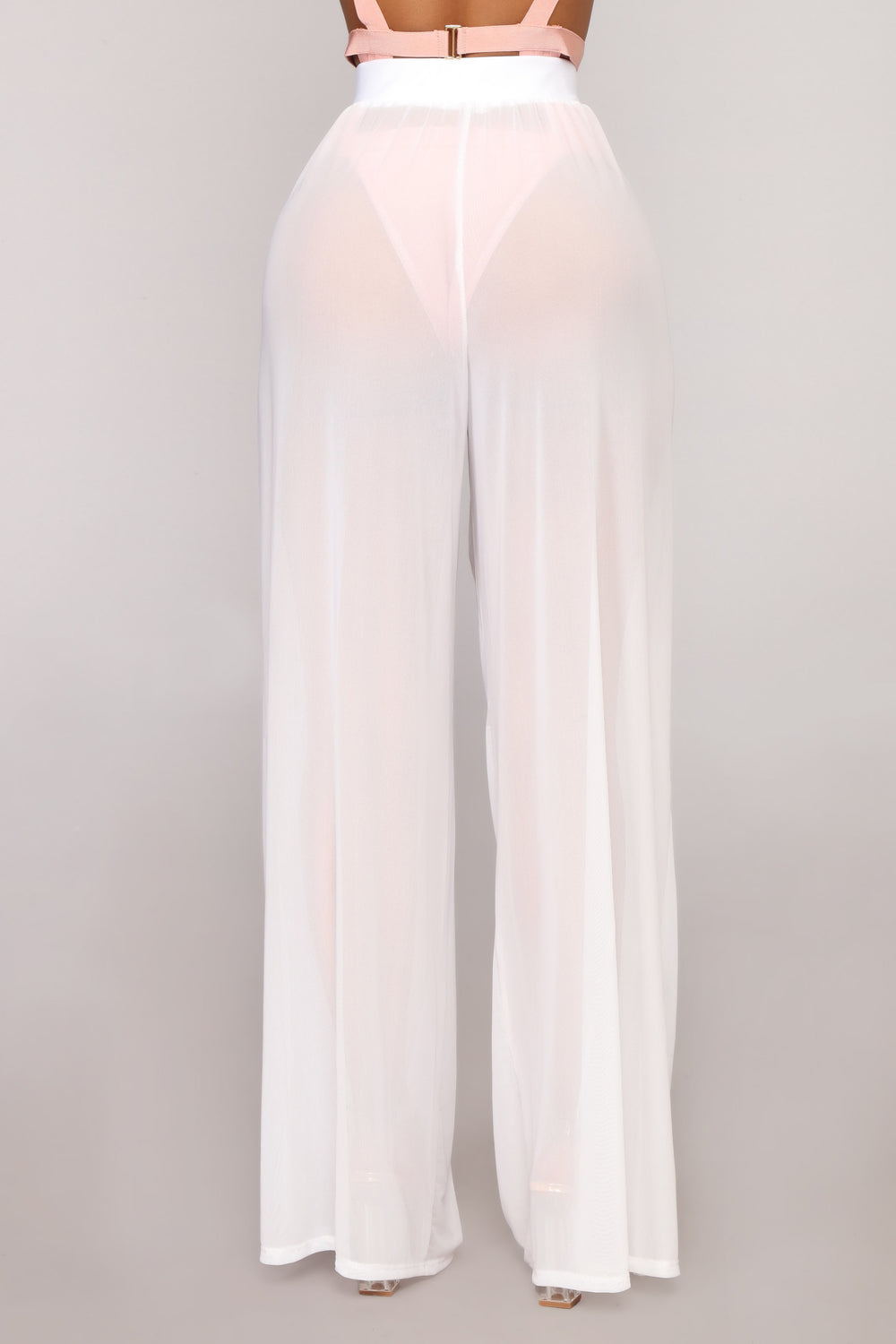 Dare To Cover Coverup Pant - White