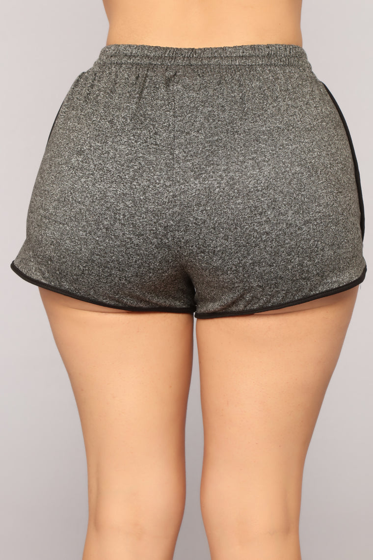 One And Only Dolphin Shorts - Charcoal