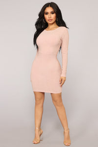 Kiss So Sweet Dress - Blush