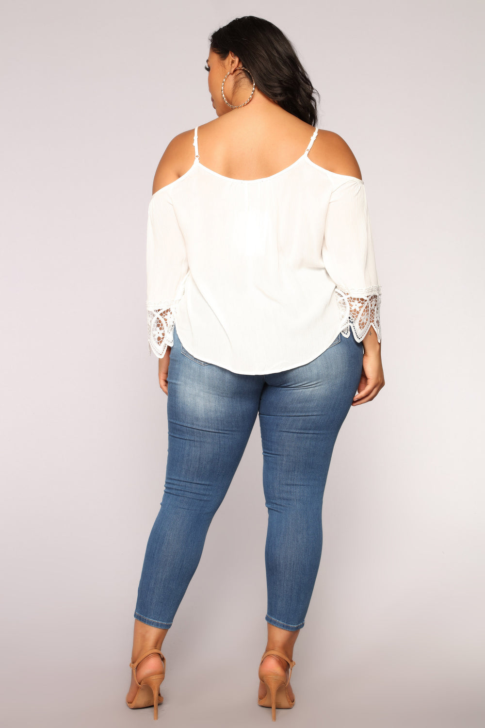 Sandcastles Lace Top - Off white