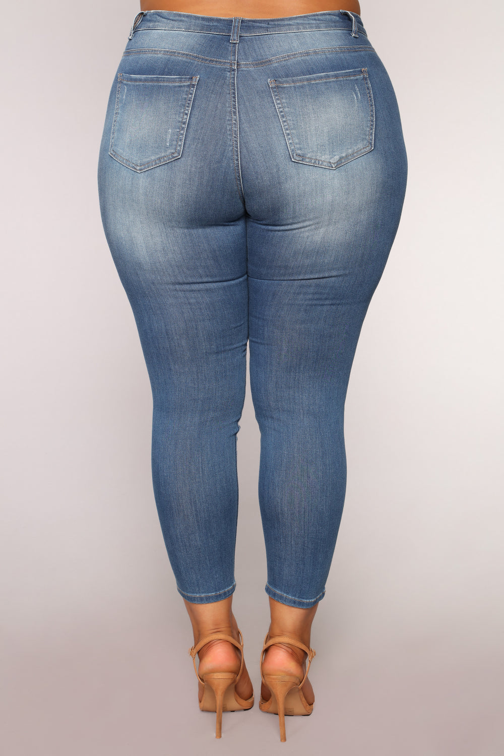 Phoebe II Supersoft Skinny Jeans - Medium Blue Wash