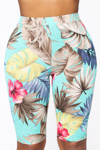 On Island Time Tropical 3 Piece Set - Mint/Combo