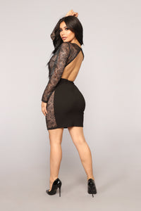 Come Get Your Love Dress - Black