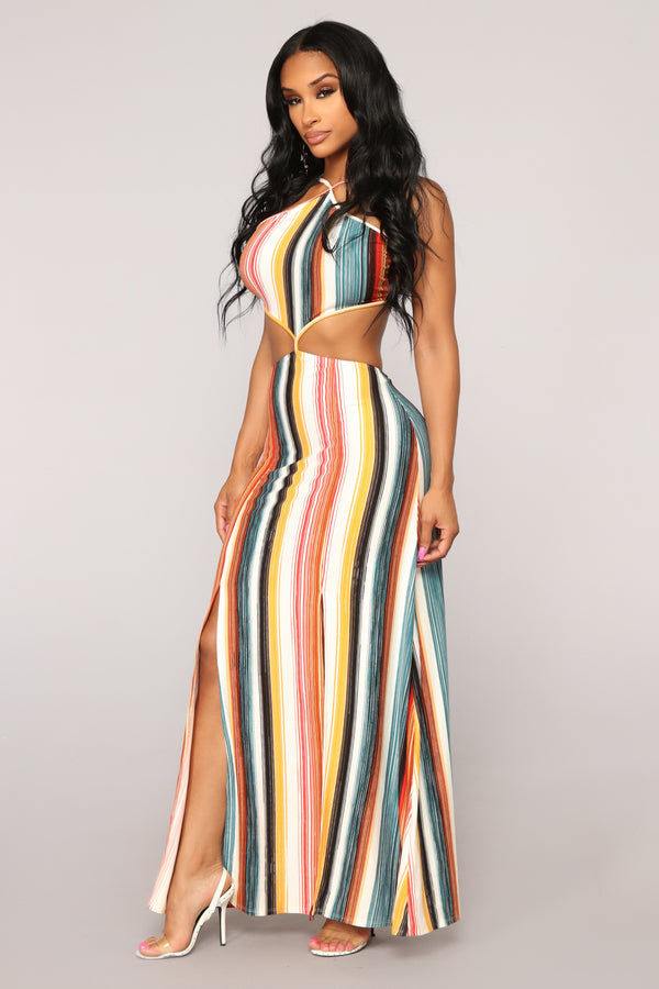 45205a0e9c Sunrise To Sunset Maxi Dress - Multi