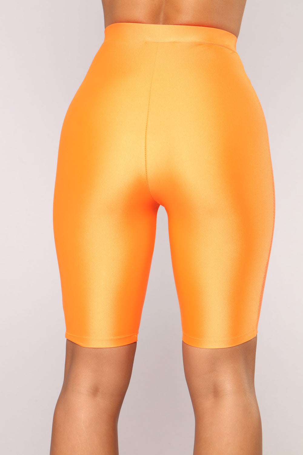 Layla Biker Shorts - Orange