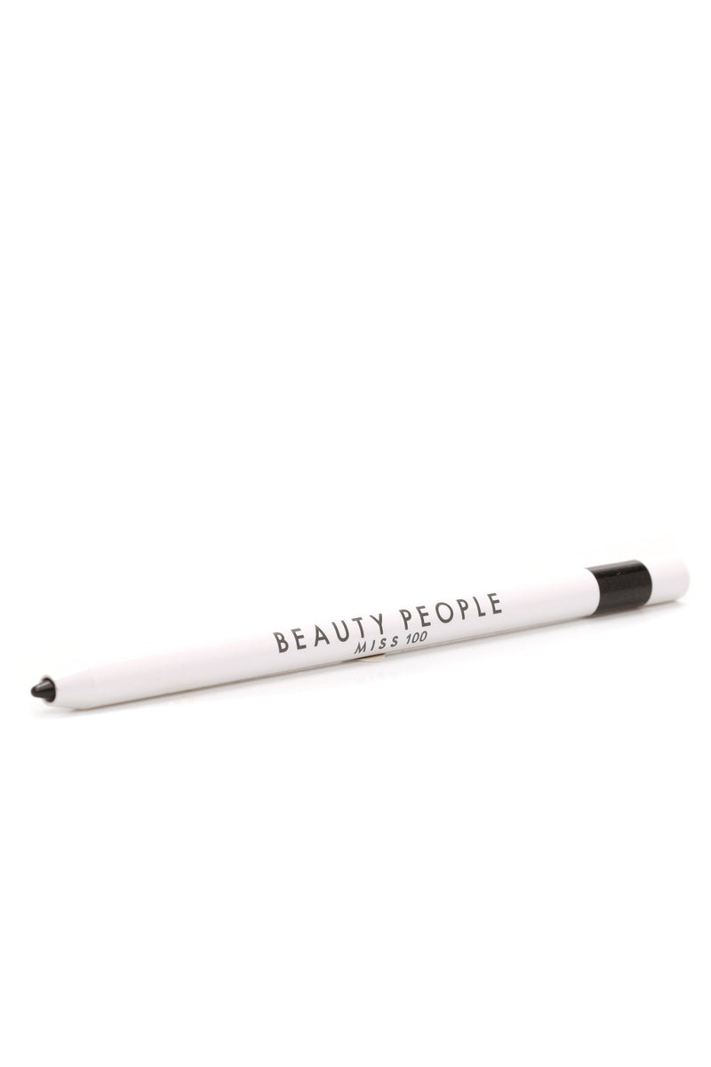 Beauty People Super Waterproof Gel Liner - Glimmer Black