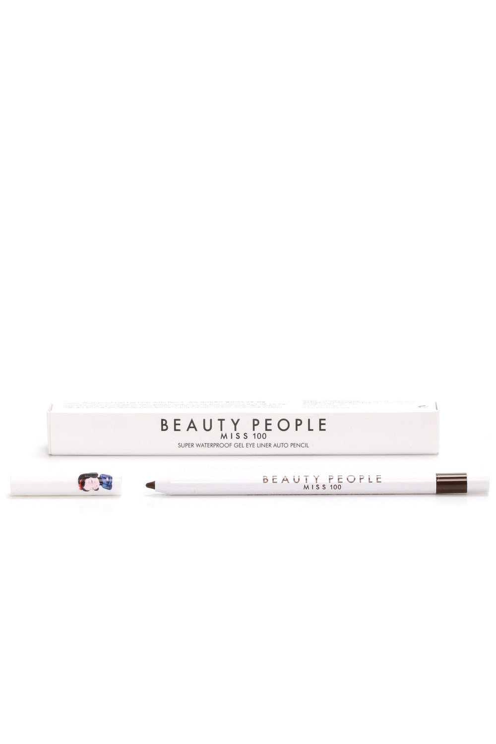 Beauty People Super Waterproof Gel Liner - Real Brown