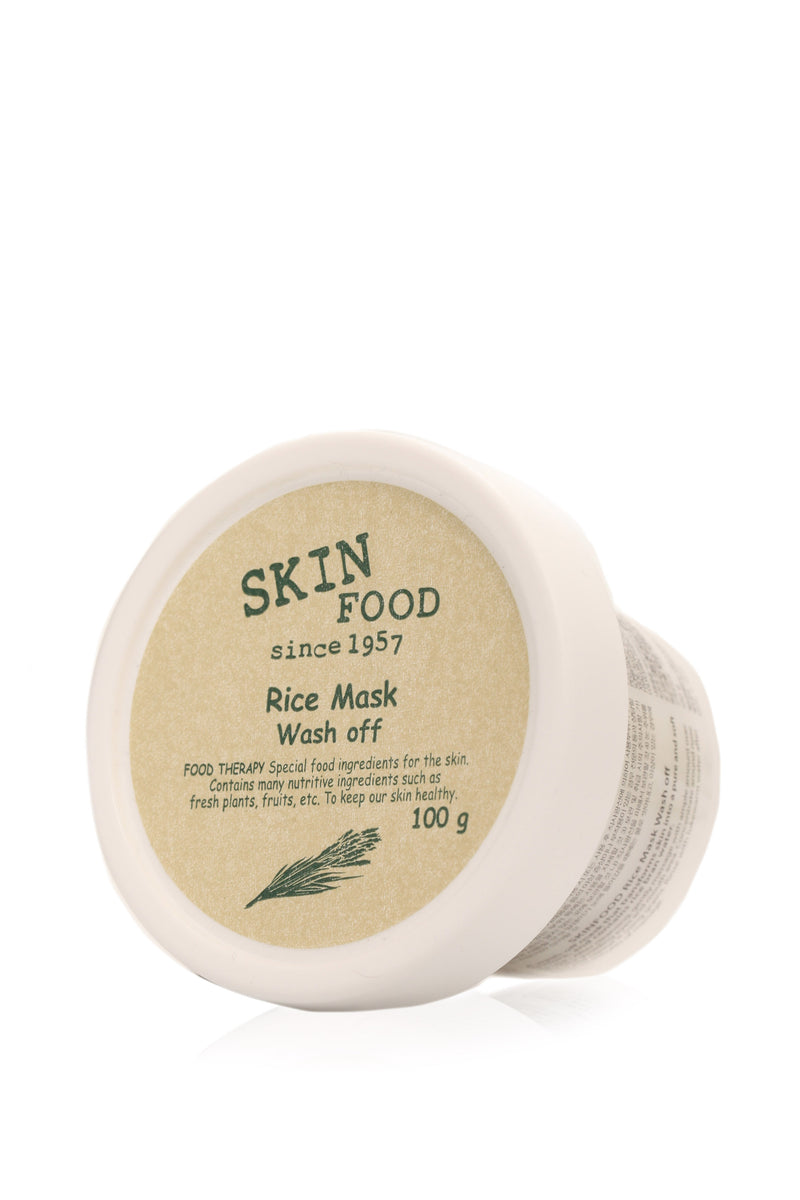 Skin Food Rice Mask - White
