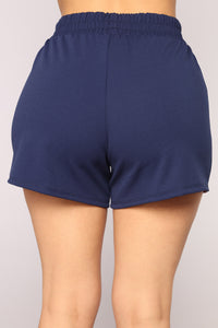 Take Me To New York Shorts - Navy