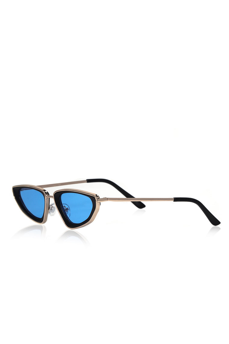 New Guy Swag Sunglasses - Gold