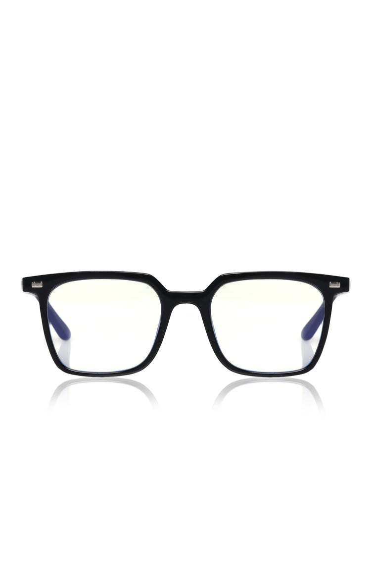 Look At Me Now Bluelight Glasses   Black by Fashion Nova