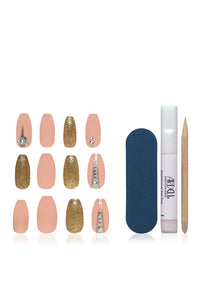 Ardell Nail Addict - Nude Jeweled