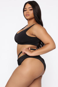 Catch A Vibe Bikini - Black