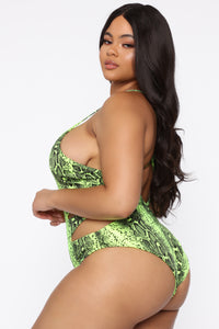 My Type Swimsuit - Lime