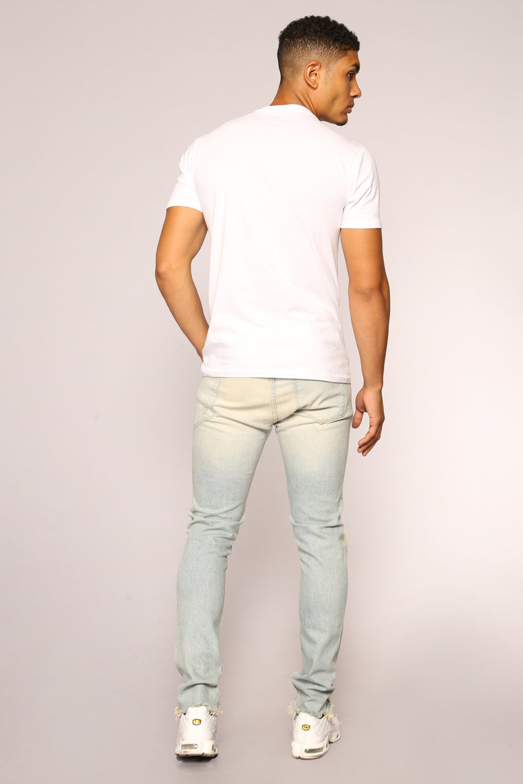Colby Skinny Jeans - Light Wash