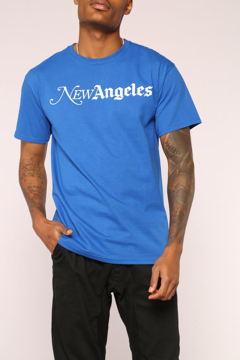 New Angeles Tee - Blue