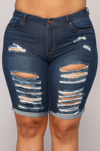 Happens Like This Bermudas - Dark Denim