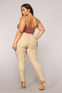 Don't Be So Square Bodysuit - Red Brown Angle 12