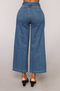 Karissa High Rise Denim Jeans - Medium Wash