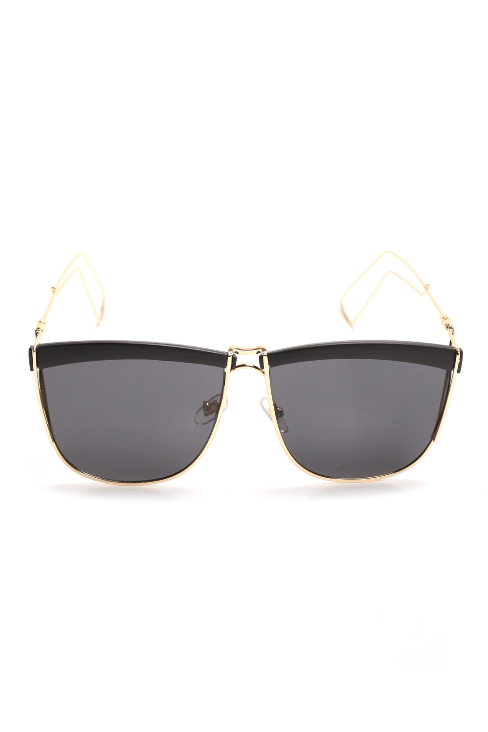 Just Do It Sunglasses - Black/Gold