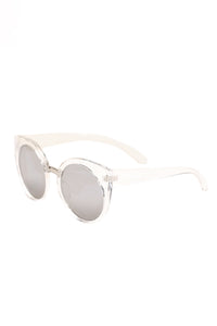 Very Peculiar Sunglasses - Clear/Grey