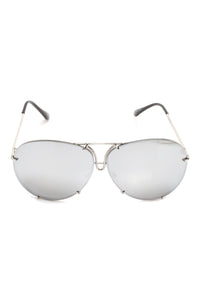 All About You Sunglasses - Flash/Silver Angle 2