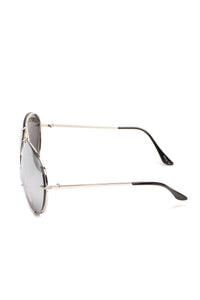 All About You Sunglasses - Flash/Silver Angle 4