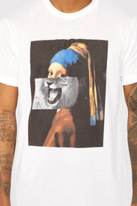 Roar Short Sleeve Tee - White