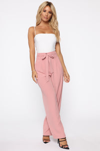 Vision Of Love Trouser Pants - Mauve